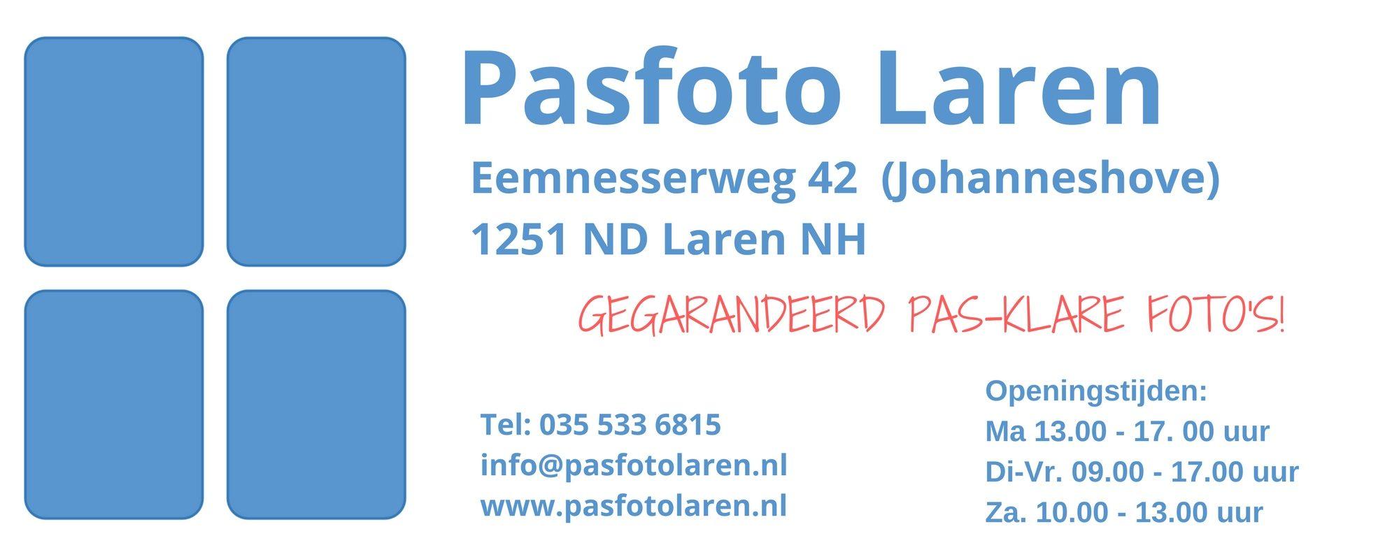 Pasfoto Laren