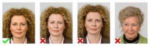 uitdrukkingen gezicht pasfoto